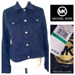 NWT Michael Kors Jean jacket